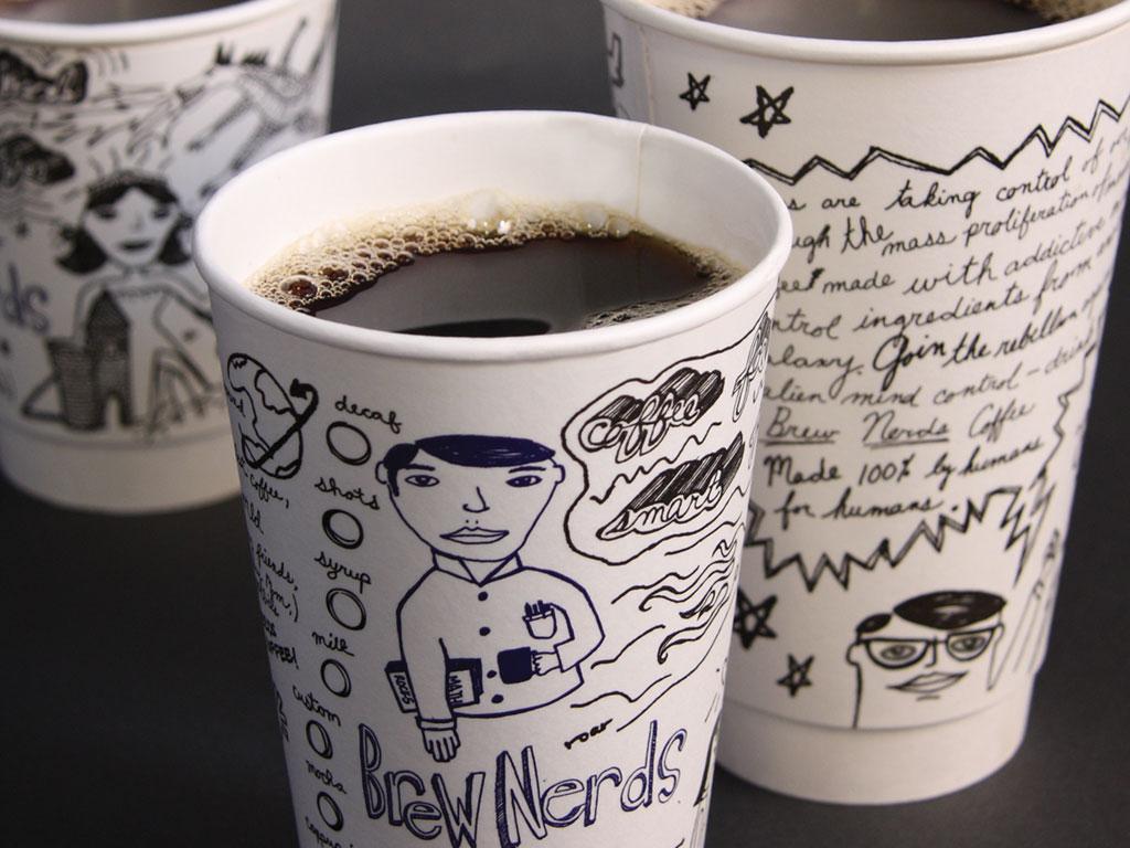 Brew Nerds Cups