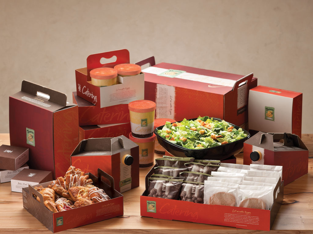 Panera Catering Packaging