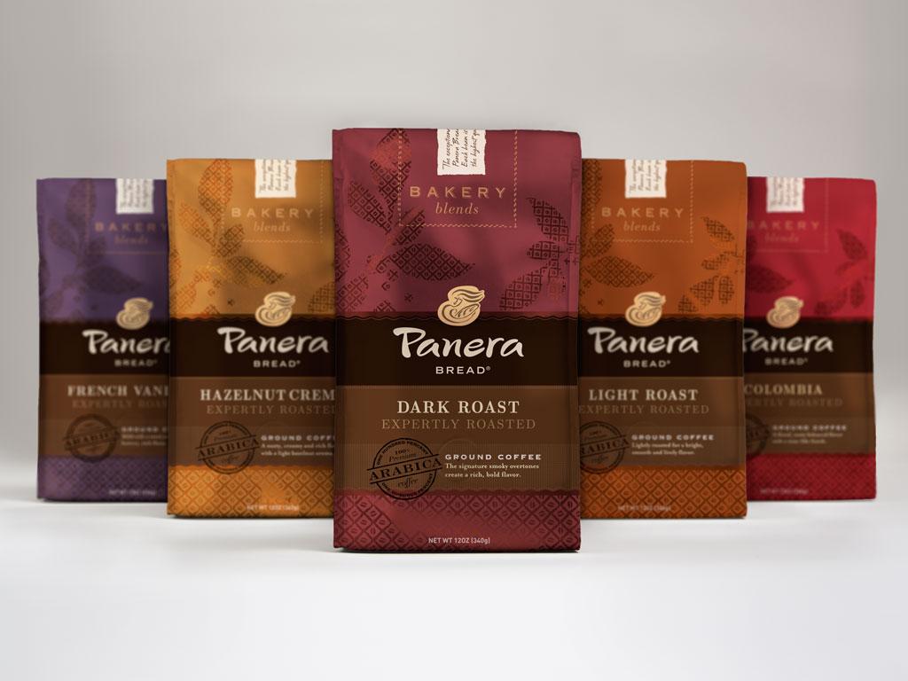 Panera Coffee Packaging