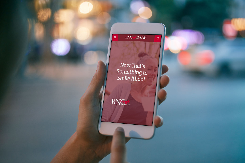 BNC Bank mobile app
